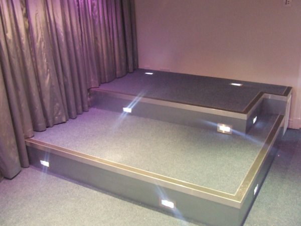 9 seater home cinema stage