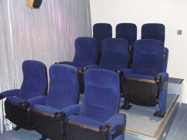 9 seater home cinema seating installation