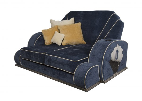 A1 art deco day bed sofa